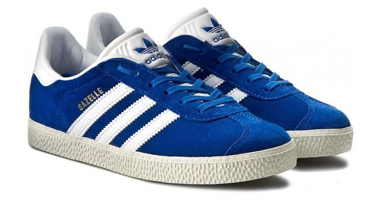 Zoológico de noche Arrugas implicar  Chollo! Zapatillas Adidas Gazelle J azules sólo 32€ (Tallas 36 a 38)