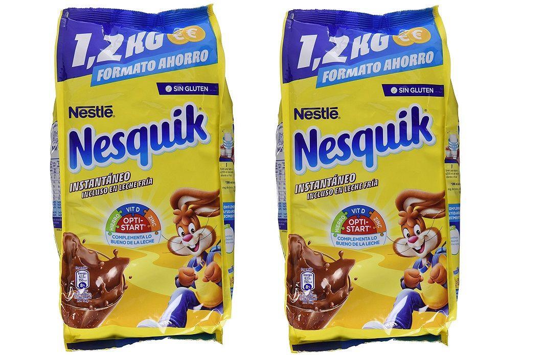 Chollo Prime Pack De 2 Bolsas De 1 2 Kg De Nesquik Sin Gluten Por Sólo 7 60