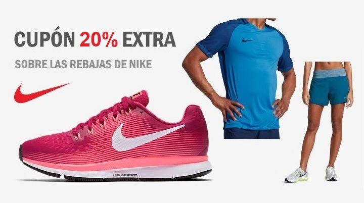 Me gusta Sucio Logro  ÚLTIMOS DÍAS! Rebajas Nike hasta 50% dto + cupón 20% EXTRA en 2.200  productos rebajados