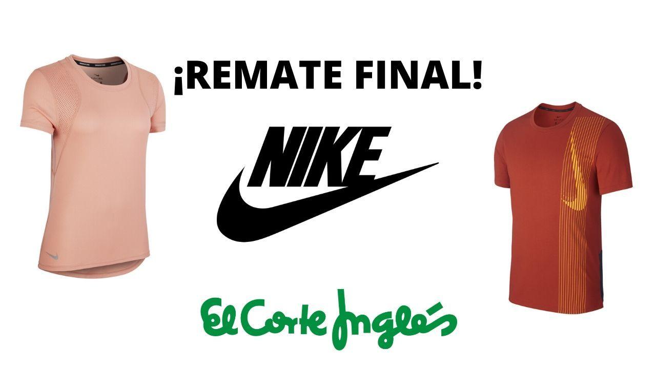 pecado carga Serafín  Remate Final! 50% en cientos de artículos Nike en El Corte Inglés